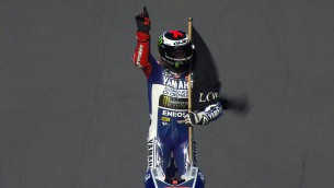 Lorenzo wins, title battle heads to Valencia (Photo: MotoGP)