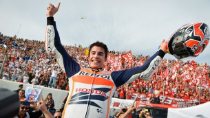 The Marc of Greatness: Marquez becomes youngest MotoGP King