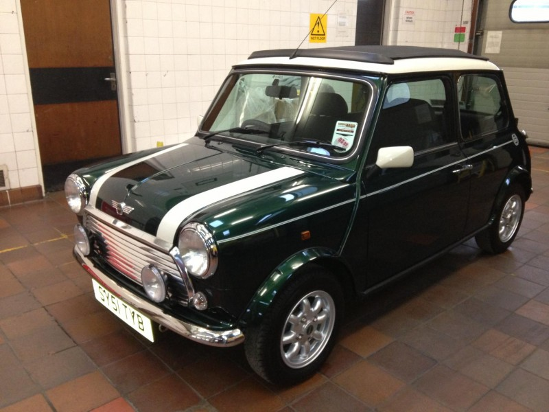 One of the last classic MINIs ever made going up for auction