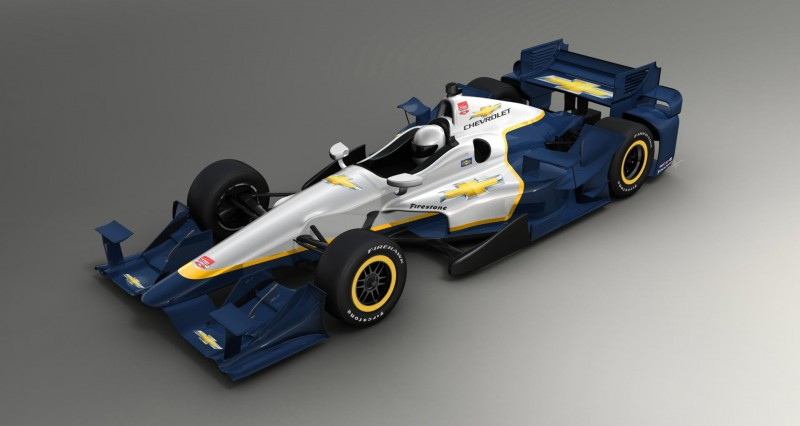2015 chevy indycar aero package