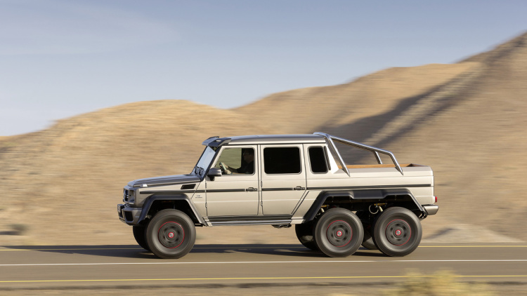 mercedes-amg is bringing production of its 6x6g-wagon to an end