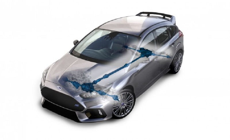 ford focus rs awd system
