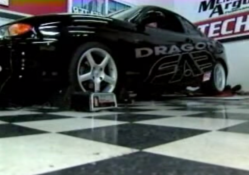 a hyundai tiburon with two different engines and all wheel drive