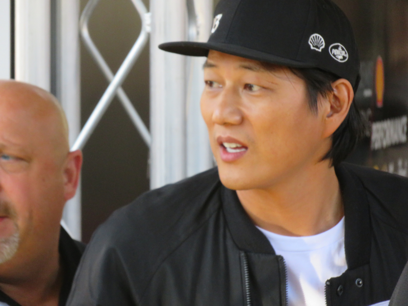Sung Kang played Han in the Fast and Furious films.