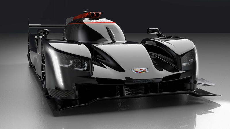 The design details giving the Cadillac DPi-V.R race car its distinctive Cadillac' appearance and presence include the vertical lighting signature; the sheer, sculptural quality of the body and bold bodyside feature line, V-Performance wheels with Brembo brakes, V-Performance emblems and a canopy graphic inspired by the Cadillac daylight opening.