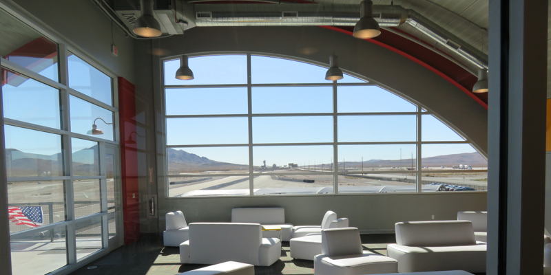 Lounge area. SPEEDVEGAS is a top destination for group events such as corporate outings, etc.