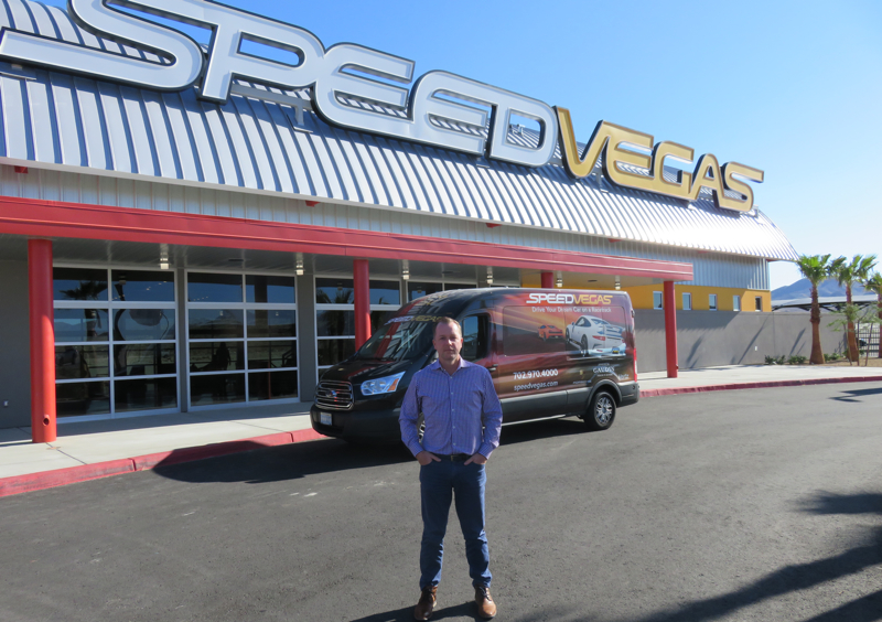 Aaron Fessler, founder and CEO of SPEEDVEGAS
