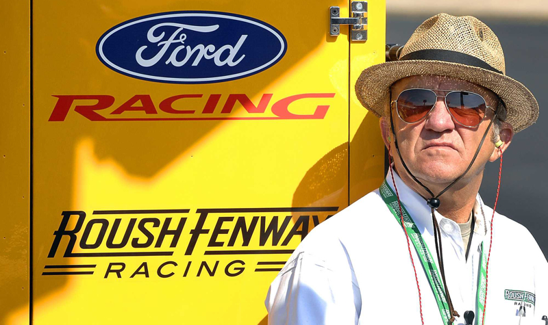 """__ Caption: Jack Roush is shown with Ford Racing's """"War Wagon."""" Email: ljacobus Phone: 8245 OrigName: 1177528545_0844298001177528545_0.jpg Name: Jack+Roush+with+War+wagon.jpg Byline: Ford Racing Submitter: Laura Jacobus Timestamp: 2007-04-25 14:15:45 Section: BUSINESS_NB"""