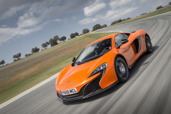 McLaren 650S: current first gen Super Series
